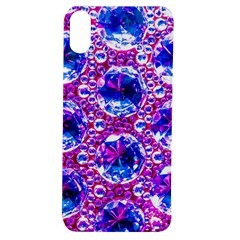Cut Glass Beads Apple Iphone Xs Tpu Uv Case by essentialimage