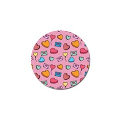 Candy Pattern Golf Ball Marker (10 Pack) by Sobalvarro