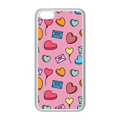 Candy Pattern Iphone 5c Seamless Case (white) by Sobalvarro