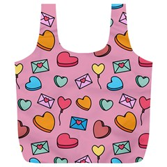 Candy Pattern Full Print Recycle Bag (xl) by Sobalvarro