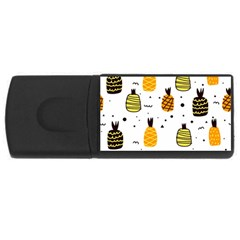 Pineapples Rectangular Usb Flash Drive by Sobalvarro