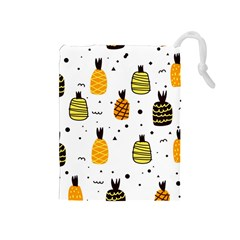 Pineapples Drawstring Pouch (medium) by Sobalvarro
