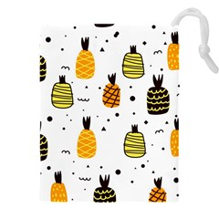 Pineapples Drawstring Pouch (3xl) by Sobalvarro
