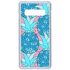 Pineapples Samsung Galaxy S10 Seamless Case(white) by Sobalvarro