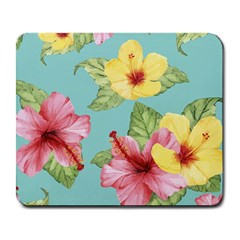 Hibiscus Large Mousepads by Sobalvarro