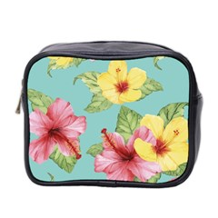 Hibiscus Mini Toiletries Bag (two Sides) by Sobalvarro