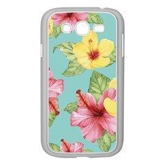 Hibiscus Samsung Galaxy Grand Duos I9082 Case (white) by Sobalvarro