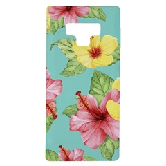 Hibiscus Samsung Galaxy Note 9 Tpu Uv Case by Sobalvarro