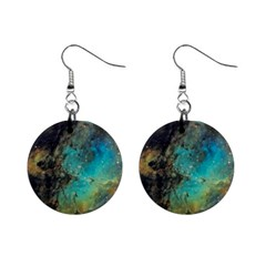 Eagle Nebula Mini Button Earrings by idjy