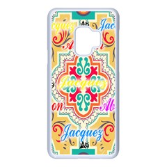 Floral Samsung Galaxy S9 Seamless Case(white)