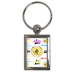 Lux2 Key Chain (rectangle) by ABjCompany