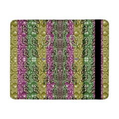 Leaves Contemplative In Pearls Free From Disturbance Samsung Galaxy Tab Pro 8 4  Flip Case by pepitasart