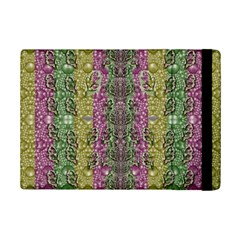 Leaves Contemplative In Pearls Free From Disturbance Ipad Mini 2 Flip Cases by pepitasart