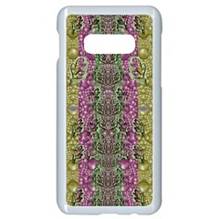 Leaves Contemplative In Pearls Free From Disturbance Samsung Galaxy S10e Seamless Case (white)