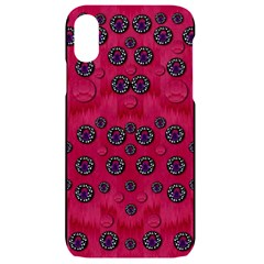 The Dark Moon Fell In Love With The Blood Moon Decorative Iphone Xr Black Uv Print Case