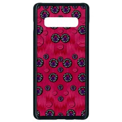 The Dark Moon Fell In Love With The Blood Moon Decorative Samsung Galaxy S10 Plus Seamless Case (black)