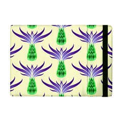Thistles Purple Flora Flowering Apple Ipad Mini Flip Case by Vaneshart