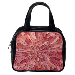 Texture Stained Glass Window Colors Classic Handbag (one Side)