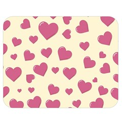Flat Love Symbol Pattern Double Sided Flano Blanket (medium)