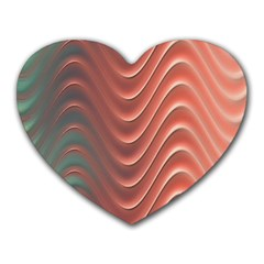Texture Digital Painting Digital Art Heart Mousepads
