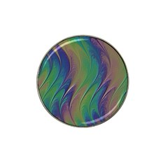 Texture Abstract Background Hat Clip Ball Marker by Vaneshart