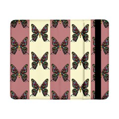 Butterflies Pink Old Old Texture Samsung Galaxy Tab Pro 8 4  Flip Case by Vaneshart