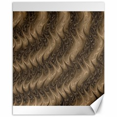 Texture Butterfly Skin Waves Canvas 11  X 14