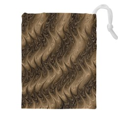Texture Butterfly Skin Waves Drawstring Pouch (5xl)