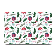 Christmas Background Plate Mats by Vaneshart