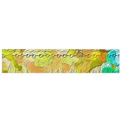 Texture Abstract Background Colors Small Flano Scarf
