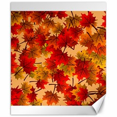 Wallpaper Background Autumn Fall Canvas 20  X 24  by Vaneshart