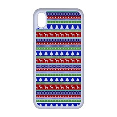 Christmas Digital Paper Iphone Xr Seamless Case (white)
