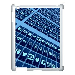Apps Social Media Networks Internet Apple Ipad 3/4 Case (white)