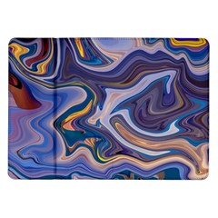 Liquid Marble Background Samsung Galaxy Tab 10 1  P7500 Flip Case