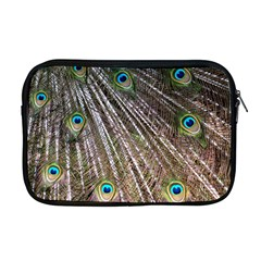 Peacock Feathers Pattern Colorful Apple Macbook Pro 17  Zipper Case