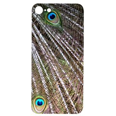 Peacock Feathers Pattern Colorful Iphone 7/8 Soft Bumper Uv Case by Vaneshart