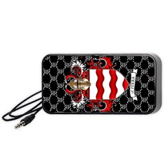 Rivera Royale Crest On Black Portable Speaker (black)