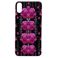 In The Dark Is Rain And Fantasy Flowers Decorative Apple Iphone Xs Tpu Uv Case by pepitasart