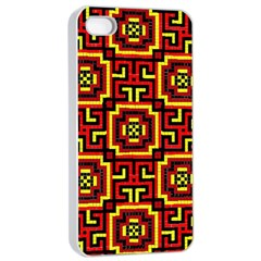 Abstract 47 Iphone 4/4s Seamless Case (white) by ArtworkByPatrick