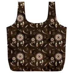 Wonderful Pattern With Dreamcatcher Full Print Recycle Bag (xxxl)