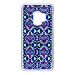 Abstract 49 Samsung Galaxy S9 Seamless Case(white)