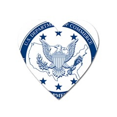Seal Of Economic Development Administration Heart Magnet by abbeyz71