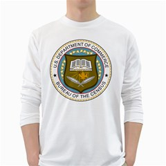 Seal Of United States Census Bureau Long Sleeve T-shirt by abbeyz71
