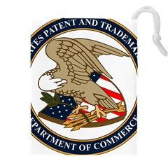 Seal Of United States Patent And Trademark Office Drawstring Pouch (5xl)