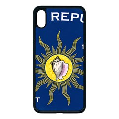 Flag Of Conch Republic Iphone Xs Max Seamless Case (black)