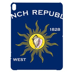 Flag Of Conch Republic Apple Ipad Pro 12 9   Black Uv Print Case