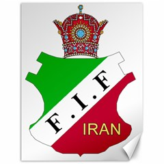Iran Football Federation Pre 1979 Canvas 12  X 16  by abbeyz71