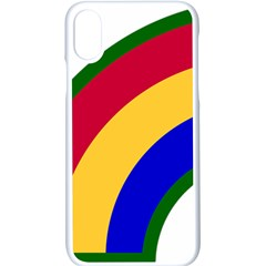 United States Army 42nd Infantry Division Shoulder Sleeve Insignia Iphone X Seamless Case (white)