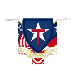 Logo Of Texas State Guard Lightweight Drawstring Pouch (l)