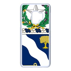 Coat Of Arms Of United States Army 143rd Infantry Regiment Samsung Galaxy S9 Seamless Case(white) by abbeyz71